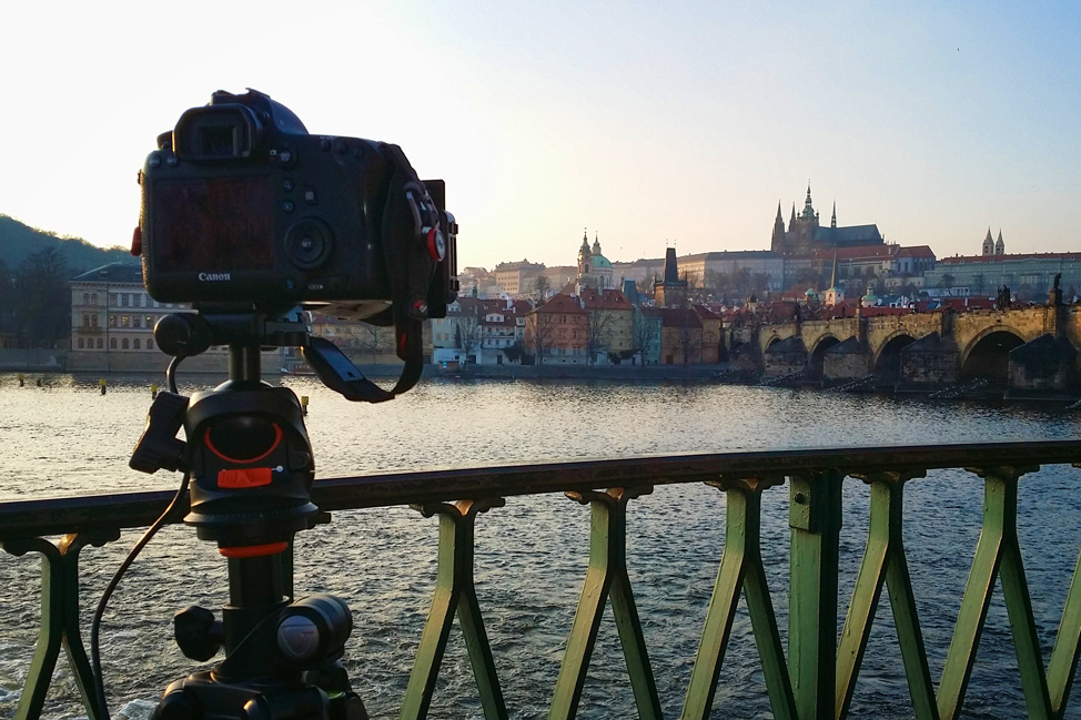 Shooting Prague