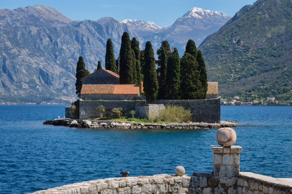 Abbey of St. George - Perast, Montenegro