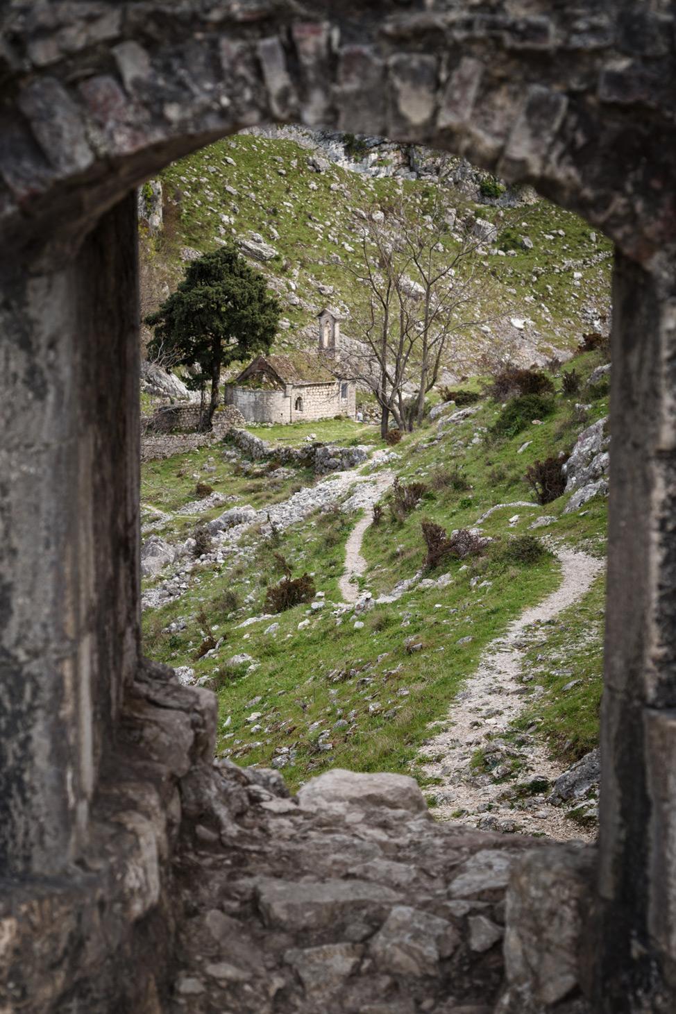 Kotor Fortress Church