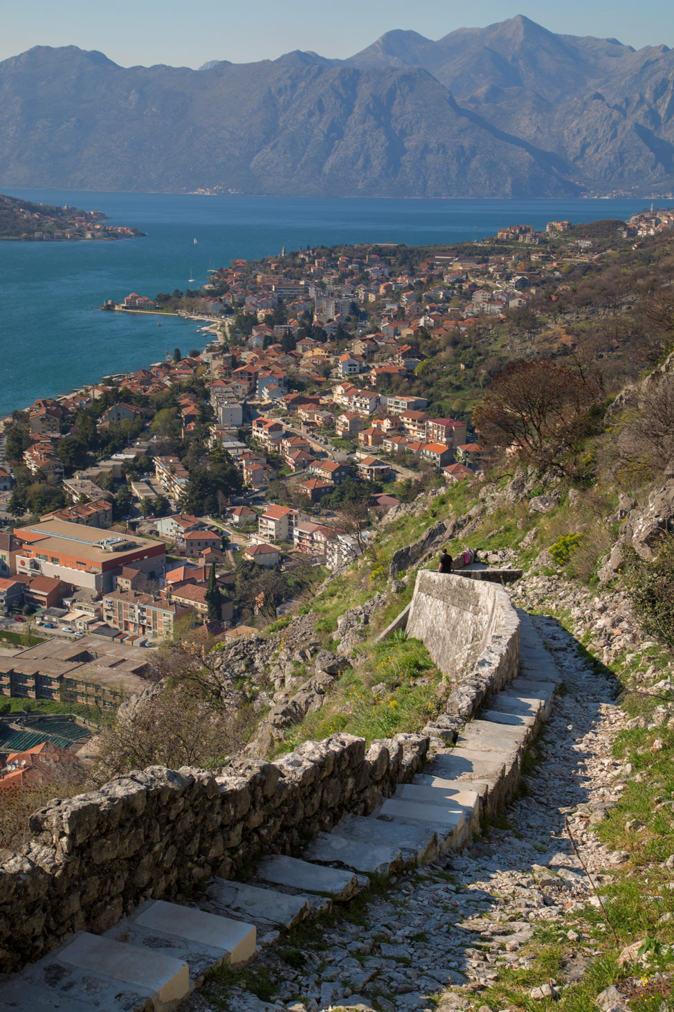 Kotor Fortress Staircase