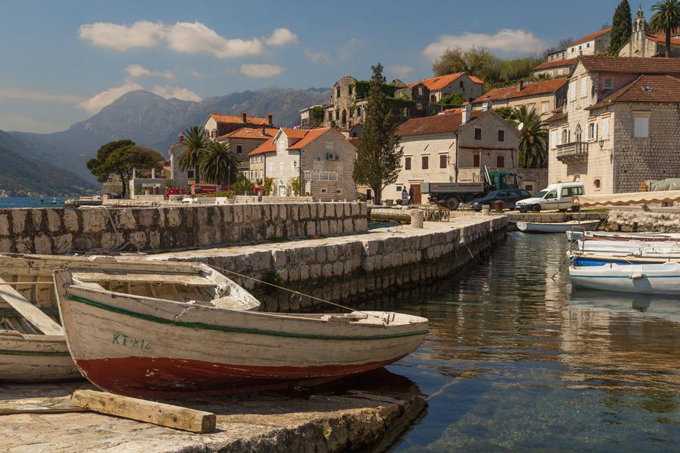 Perast Harbour