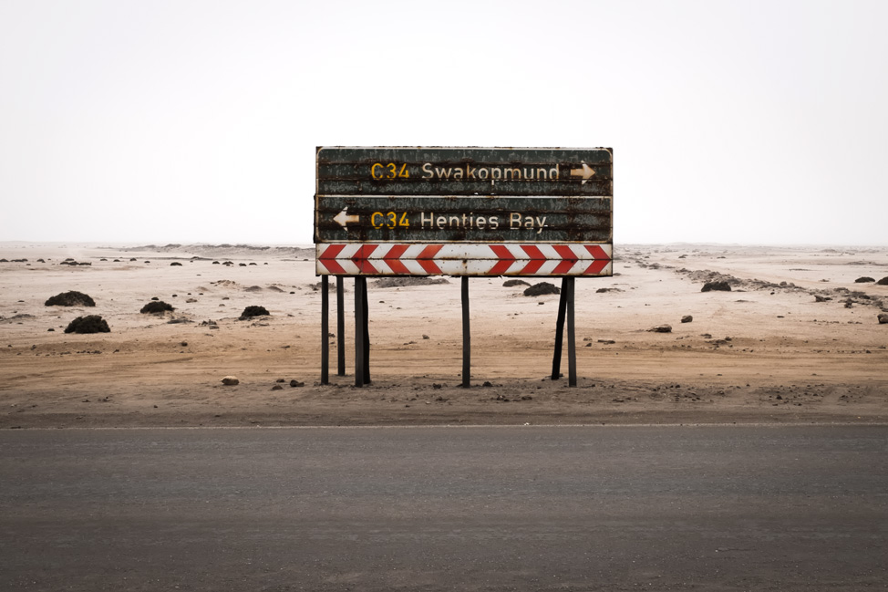Which Way on the Skeleton Coast