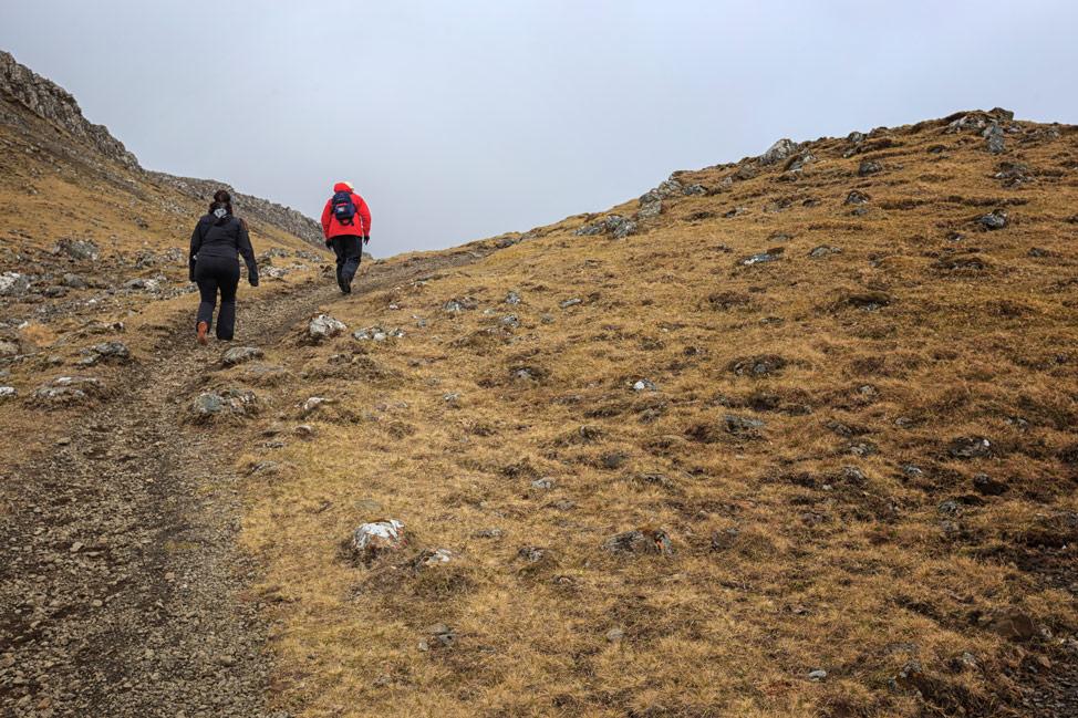 Hike to Kirkjubøur