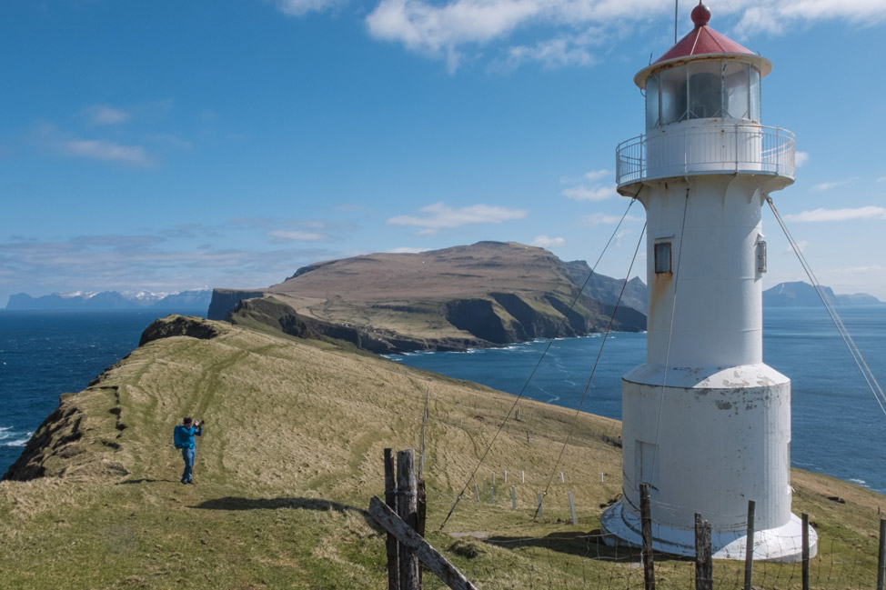 Farthest Point West on the Faroe Islands