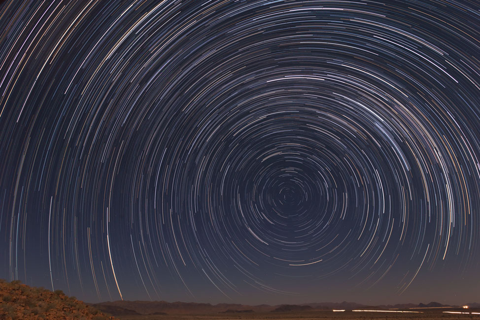 Namibia Star Trails