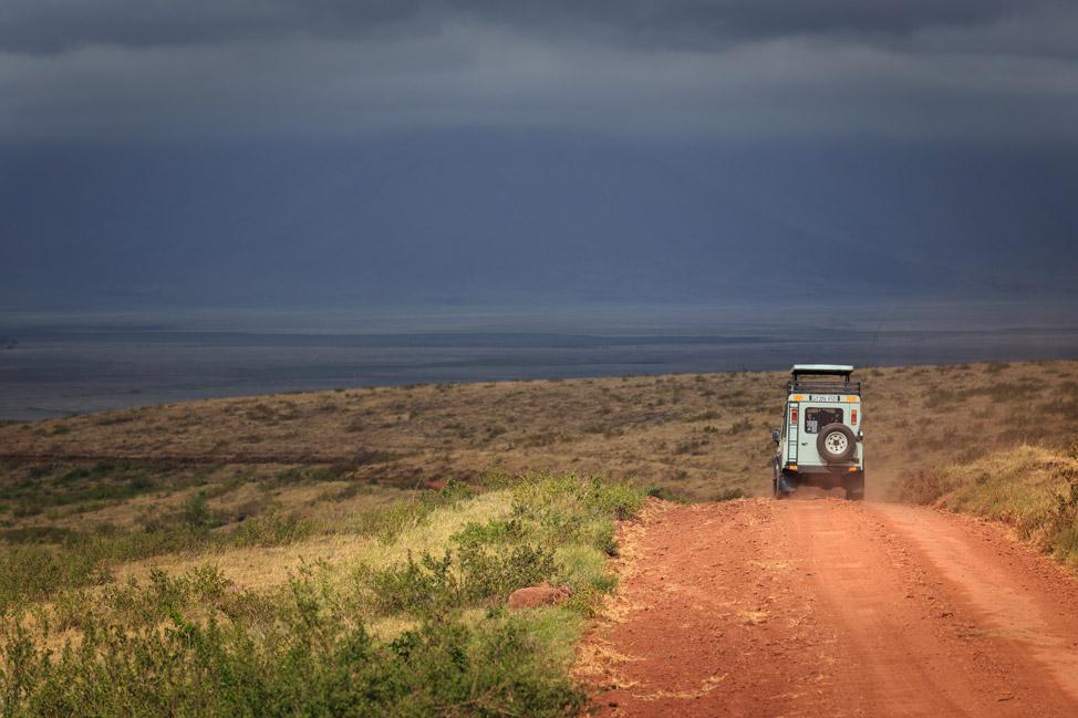 Drive in Ngorogoro