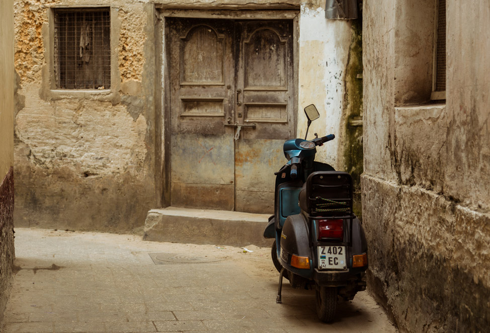 Moped Stone Town