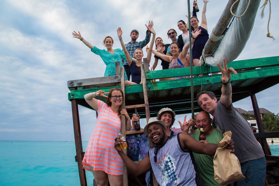 Intrepid Zanzibar Crew