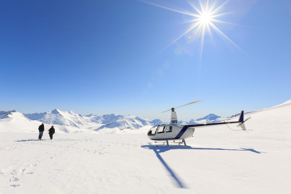 Glacier Land Aspiring Helicopters