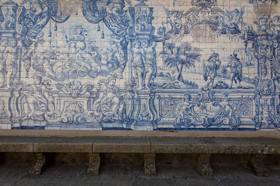 Blue Tile Porto Cathedral