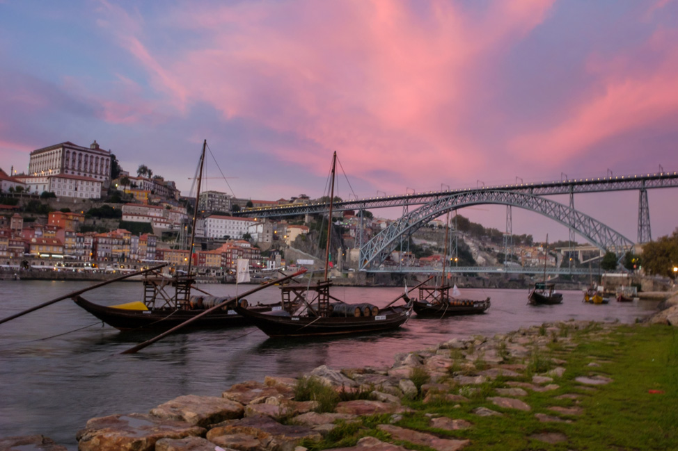 Porto Sunset on Bridge