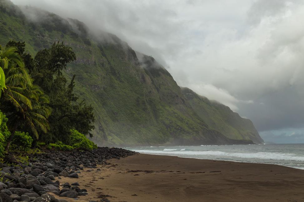 Sea Cliffs Kalaupapa Molokai