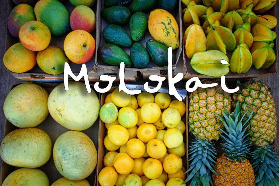 Molokai Postcard