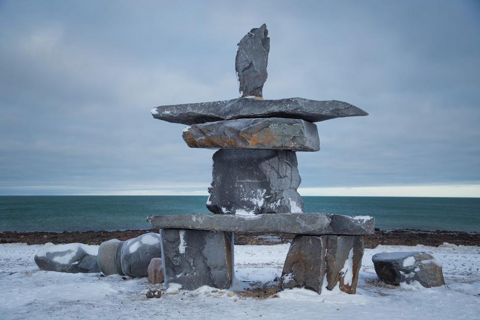 Inukshuk - Churchill, Manitoba