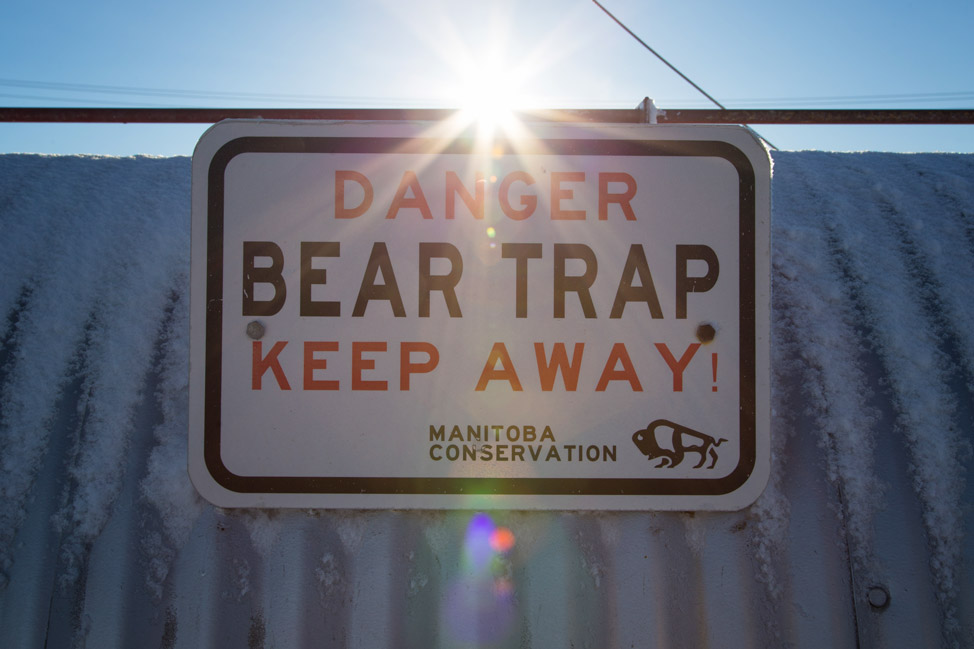 Polar Bear Trap - Churchill, Manitoba