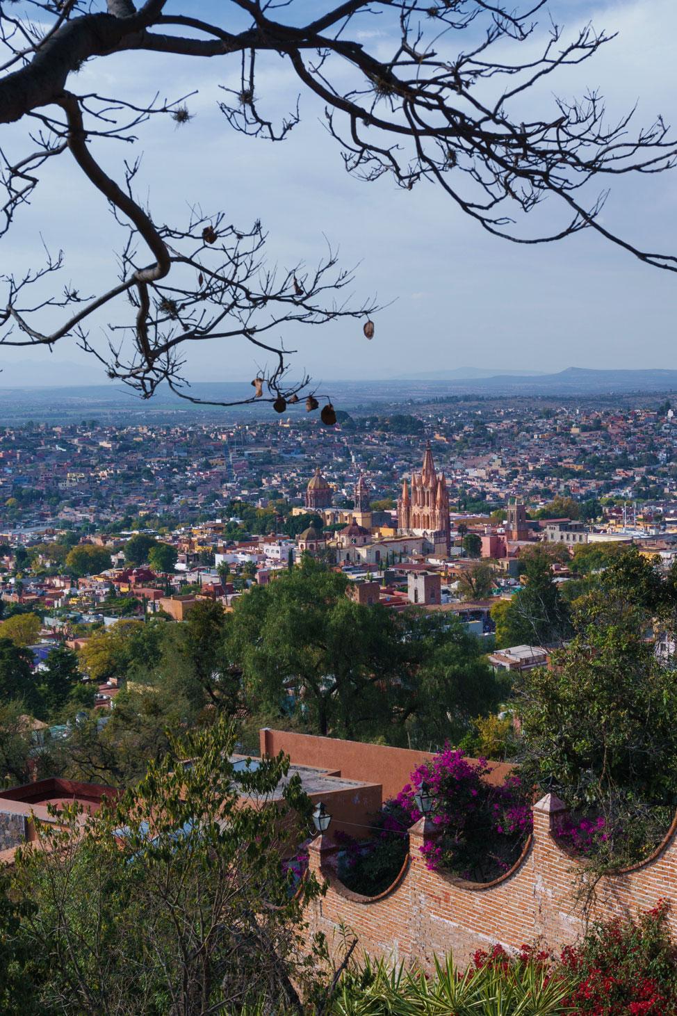 La Parroquia San Miguel de Allende Mirador