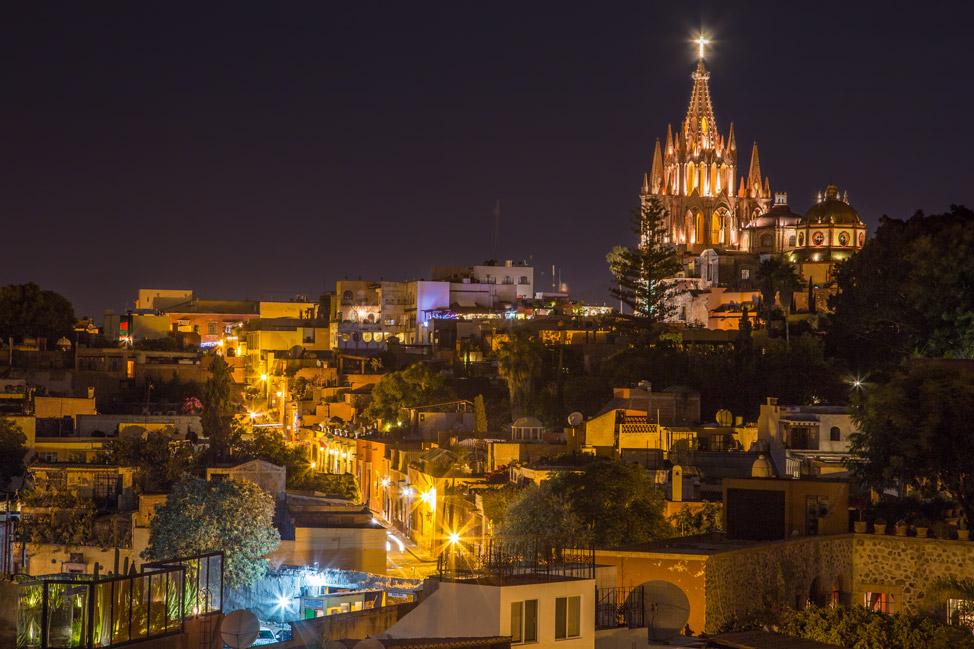 La Parroquia San Miguel de Allende - Rosewood Patio