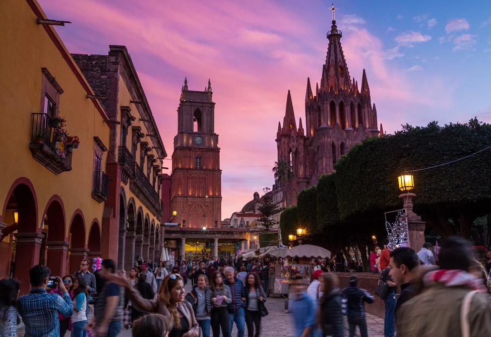 La Parroquia San Miguel de Allende - Sunset
