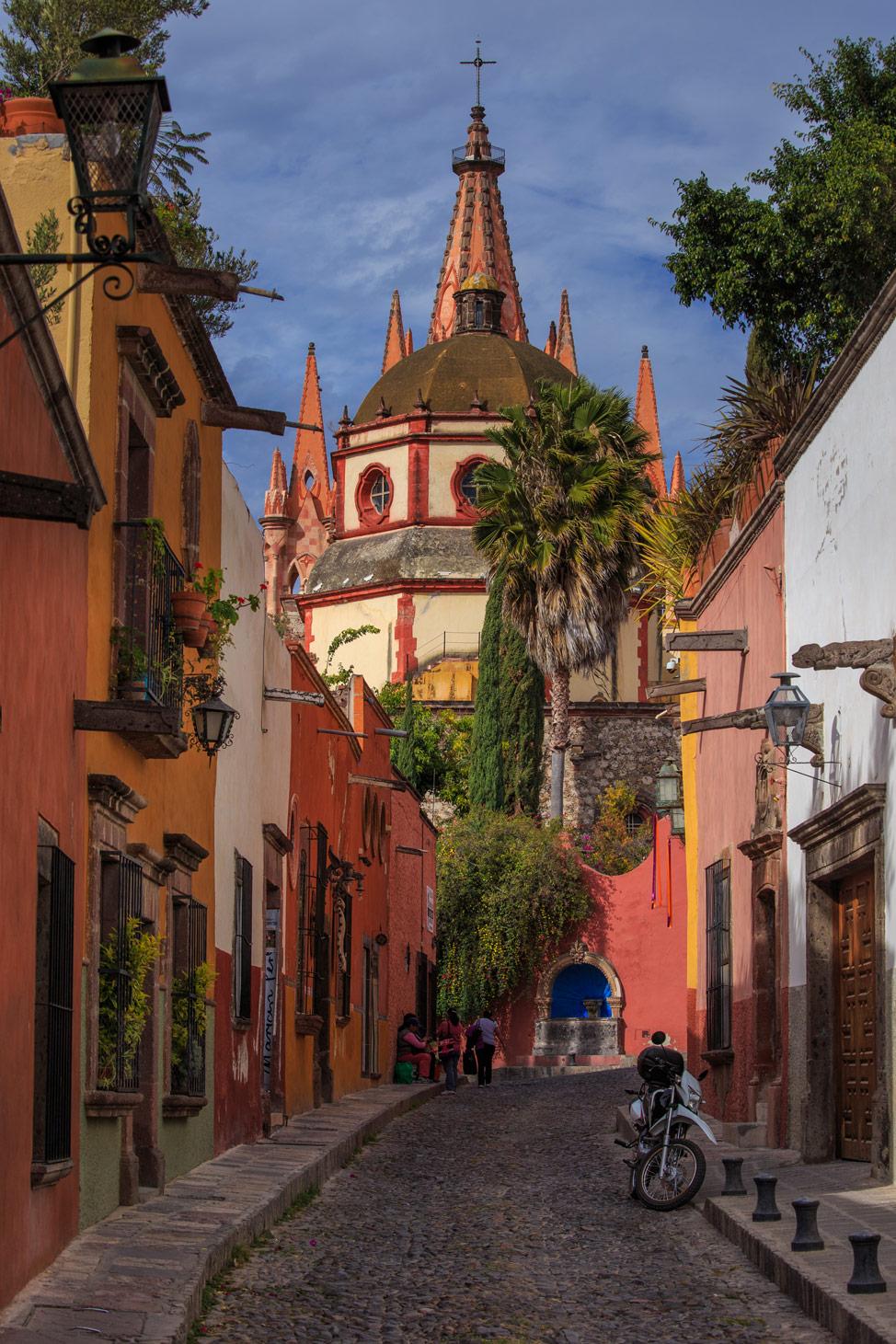 La Parroquia San Miguel de Allende - Famous Shot