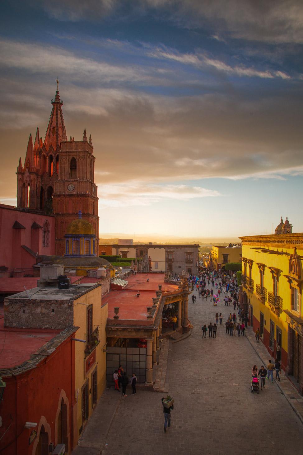 La Parroquia San Miguel de Allende - Last Light