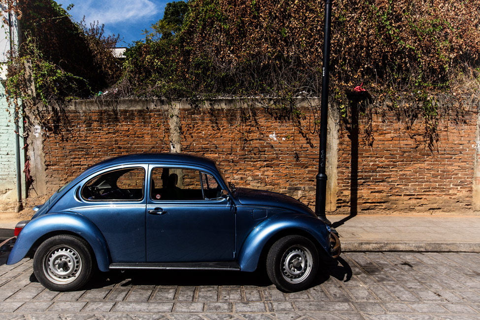 Blue Punch Buggy