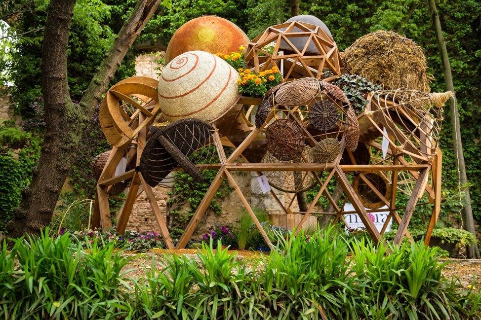 Temps de Flors Art Exhibit Gardens