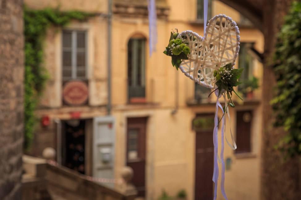Temps de Flors Hanging Heart