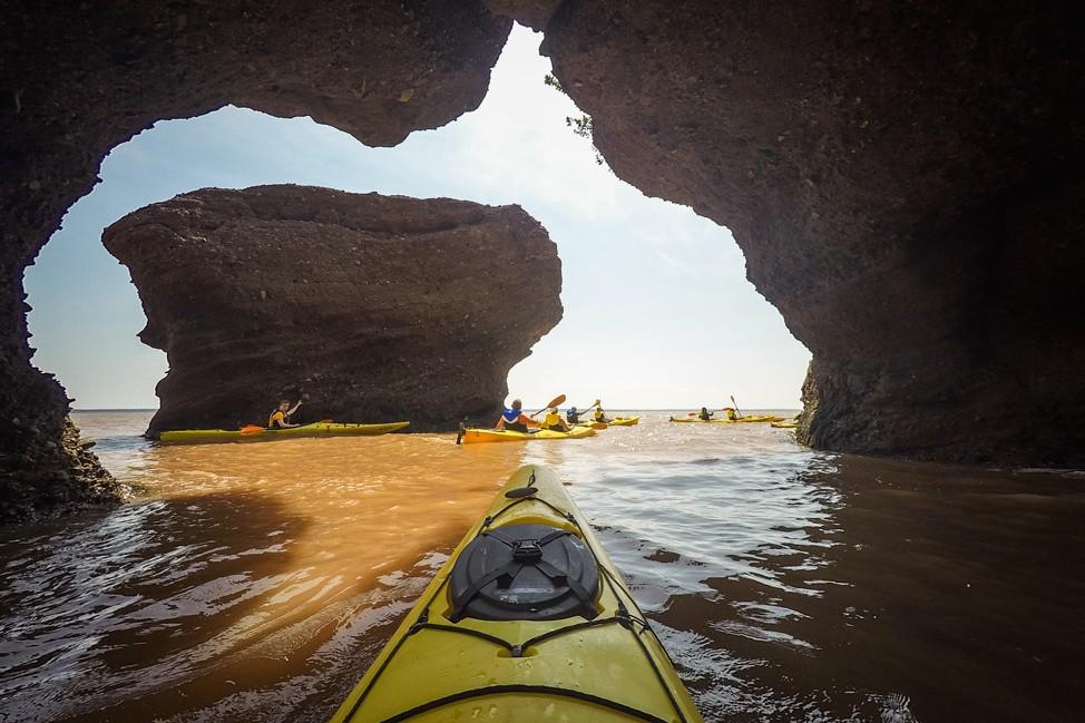 Kayaking Bay of Fundy