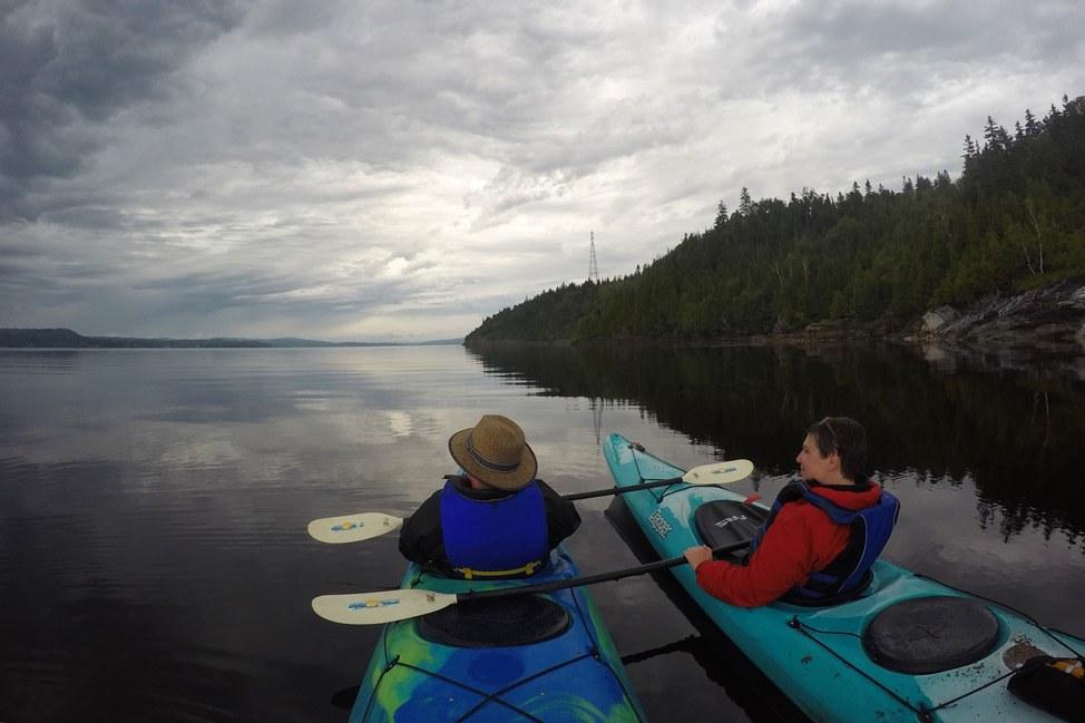 Kayaking Saint John
