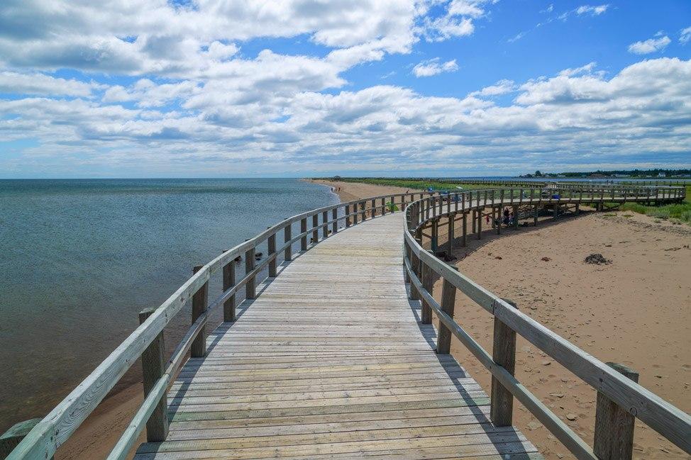 Bouctouche Dunes Boardwalk