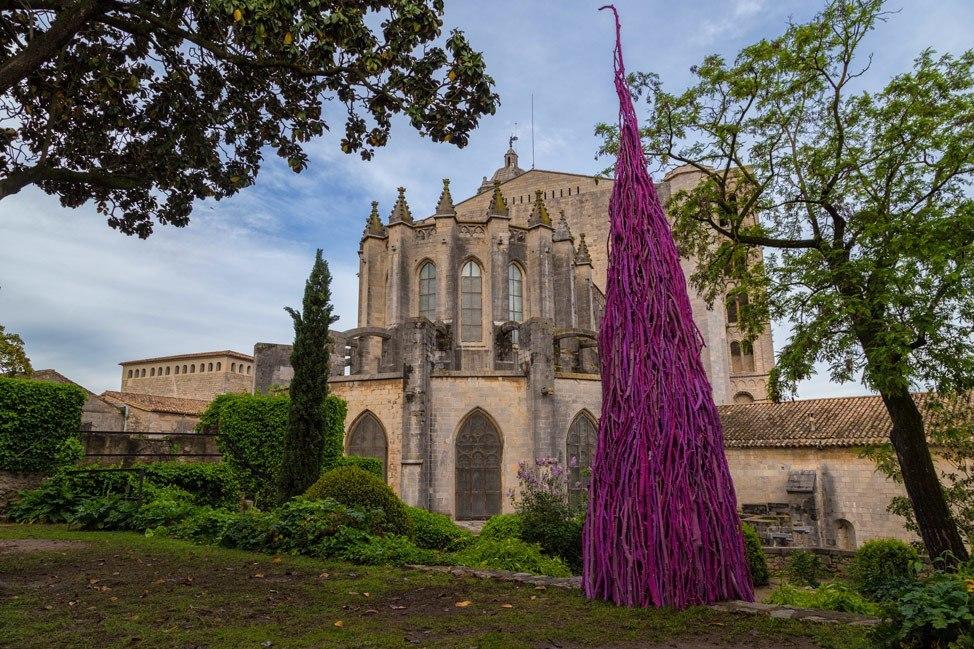 Temps de Flors Purple Tree