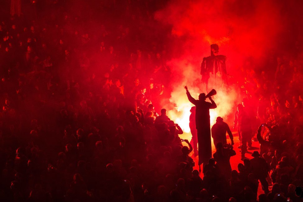 Temps de Flors Night Celebration Pyro