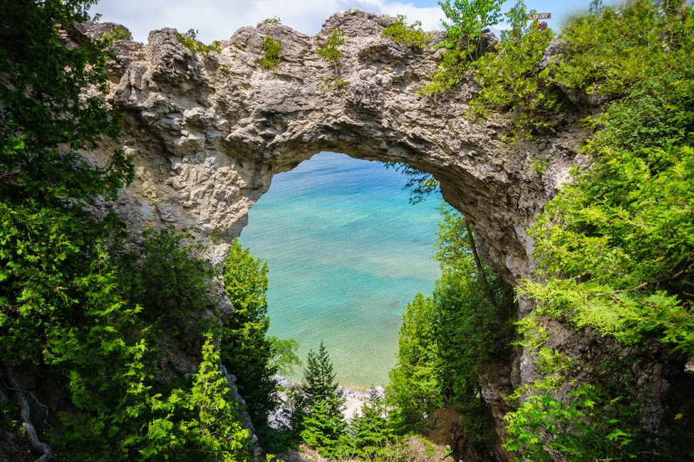 Rock Arch Mackinac Island