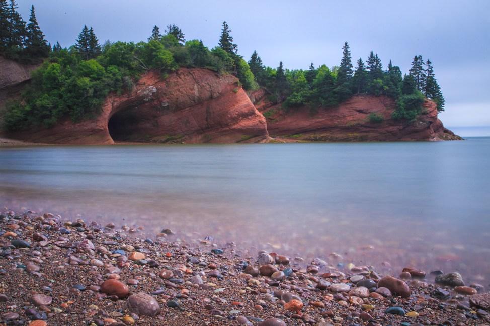 Sea Caves, New Brunswick
