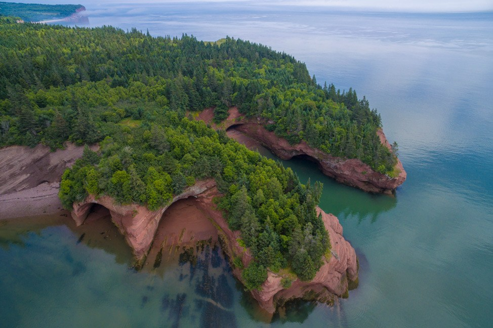 Sea Caves - St. Martins, New Brunswick