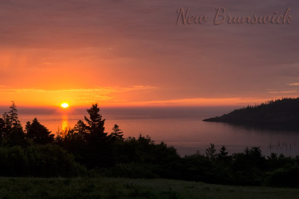 Early Rise - Grand Manan, New Brunswick