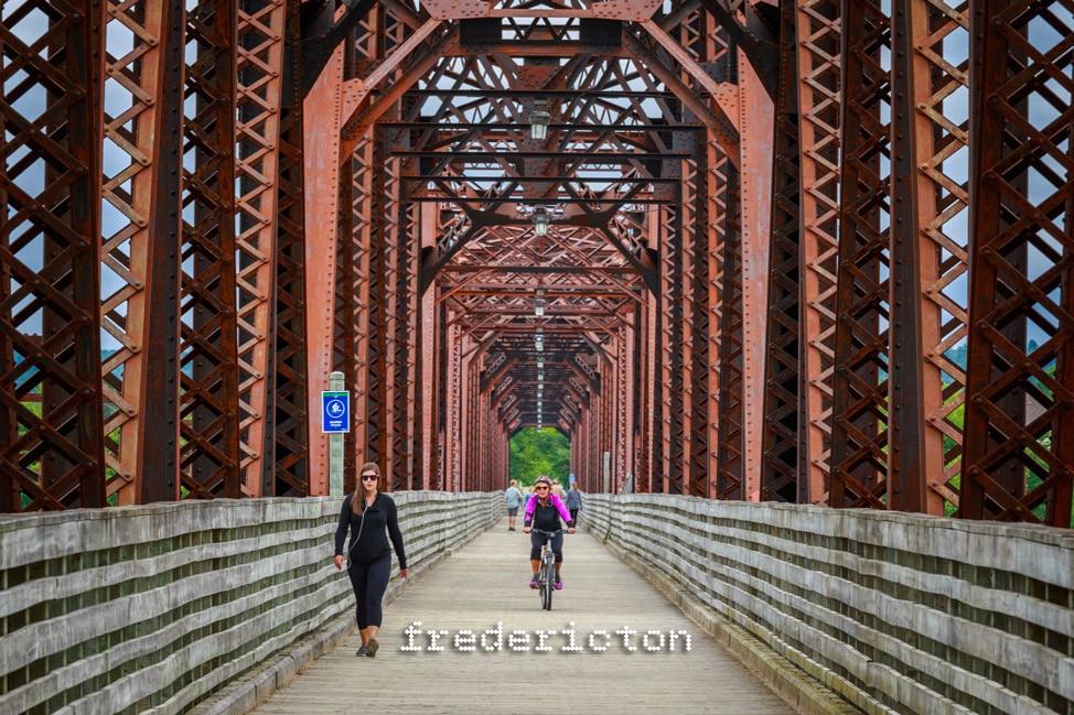 Fredericton Walking Bridge