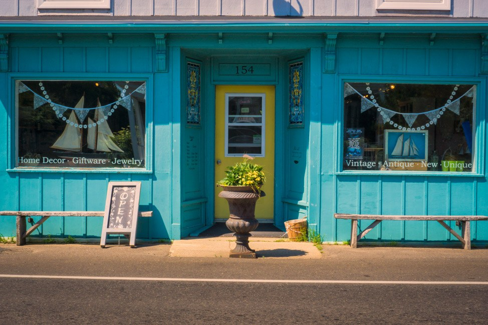 Grand Manan Store Front