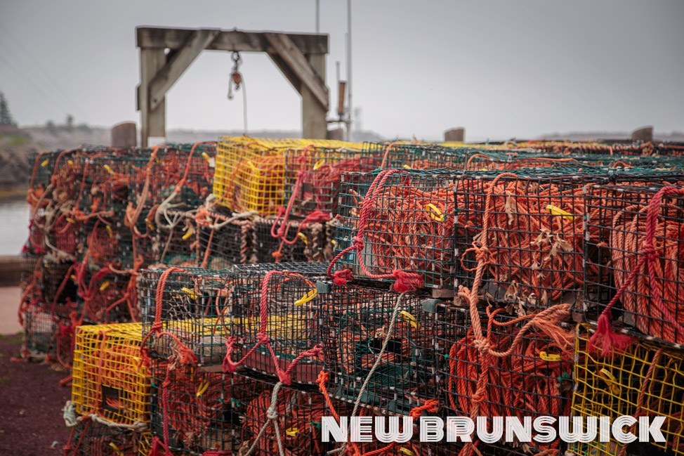 Lobster Traps, New Brunswick