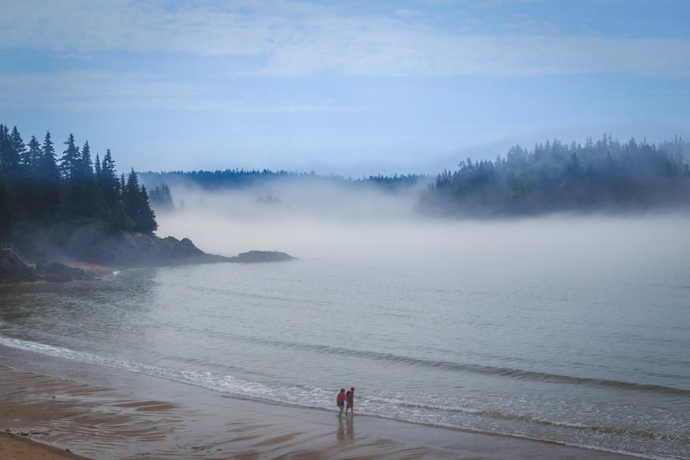 New River Beach Fog