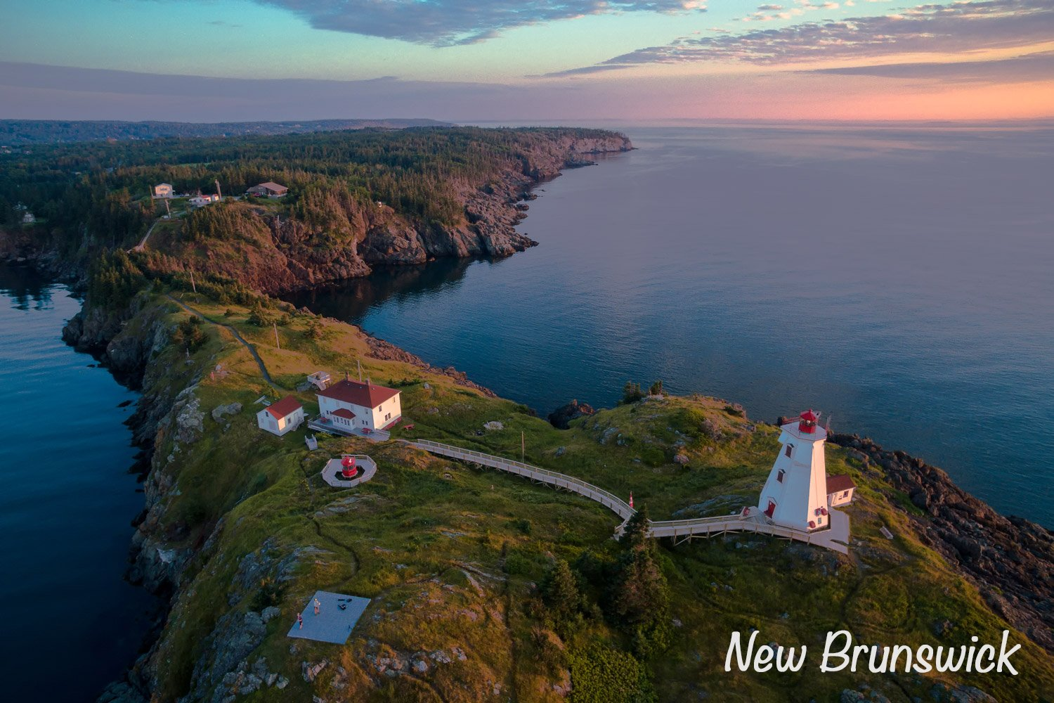 Swallowtail Lighthouse - Grand Manan, New Brunswick