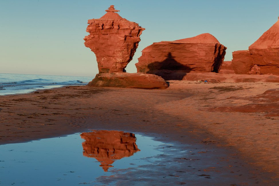 Tea Cup Rock Prince Edward Island