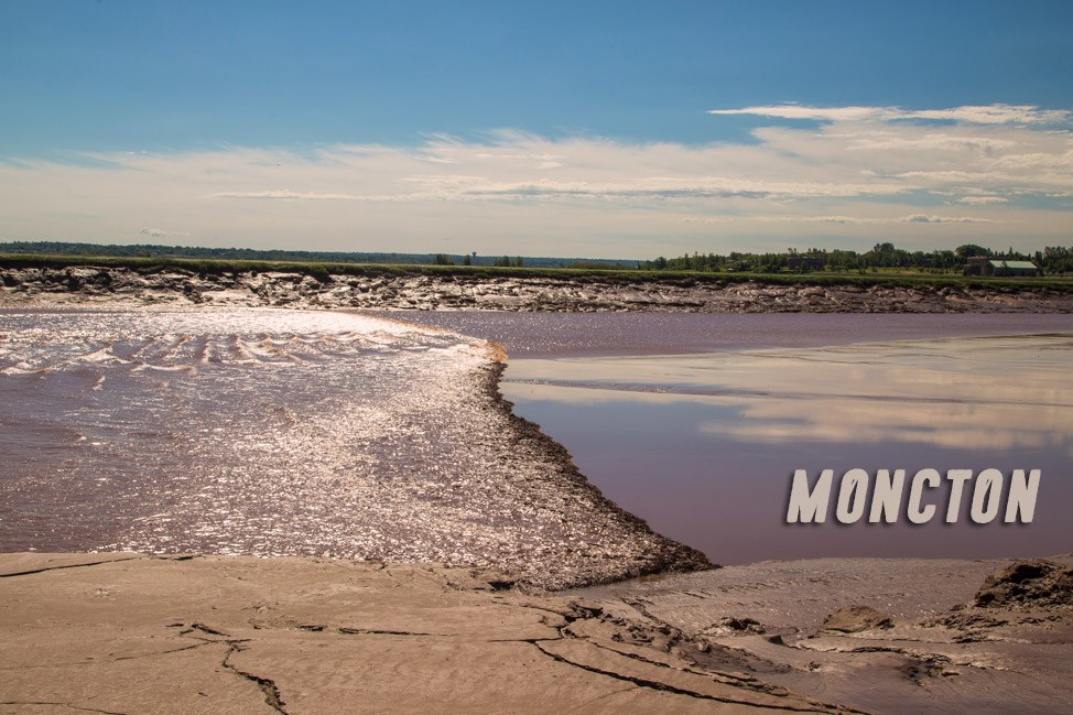 Tidal Bore - Moncton, New Brunswick