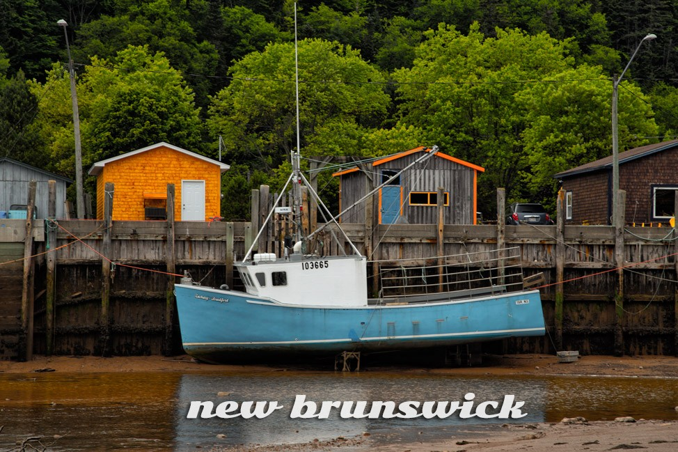 Tides Out - New Brunswick