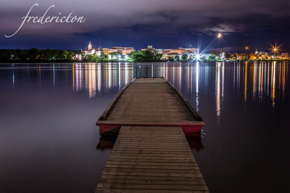 Fredericton Twilight, New Brunswick