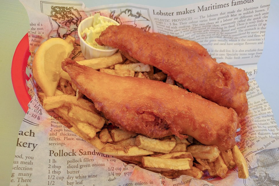Rick's Fish and Chips - St. Peter's PEI