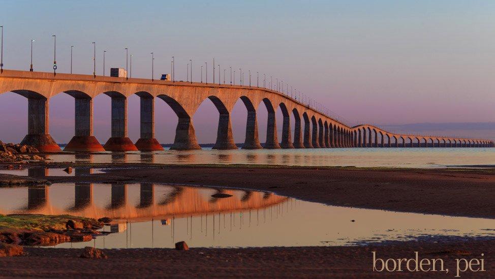 Pink-Confederation-Bridge