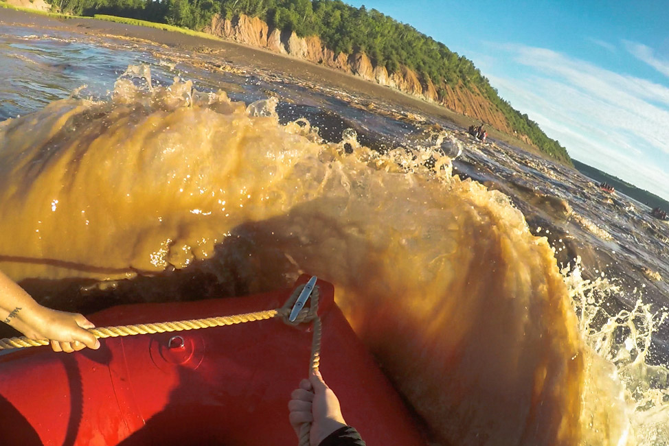 Tidal Bore Rafting Splash