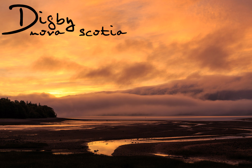Digby Sunrise - Nova Scotia