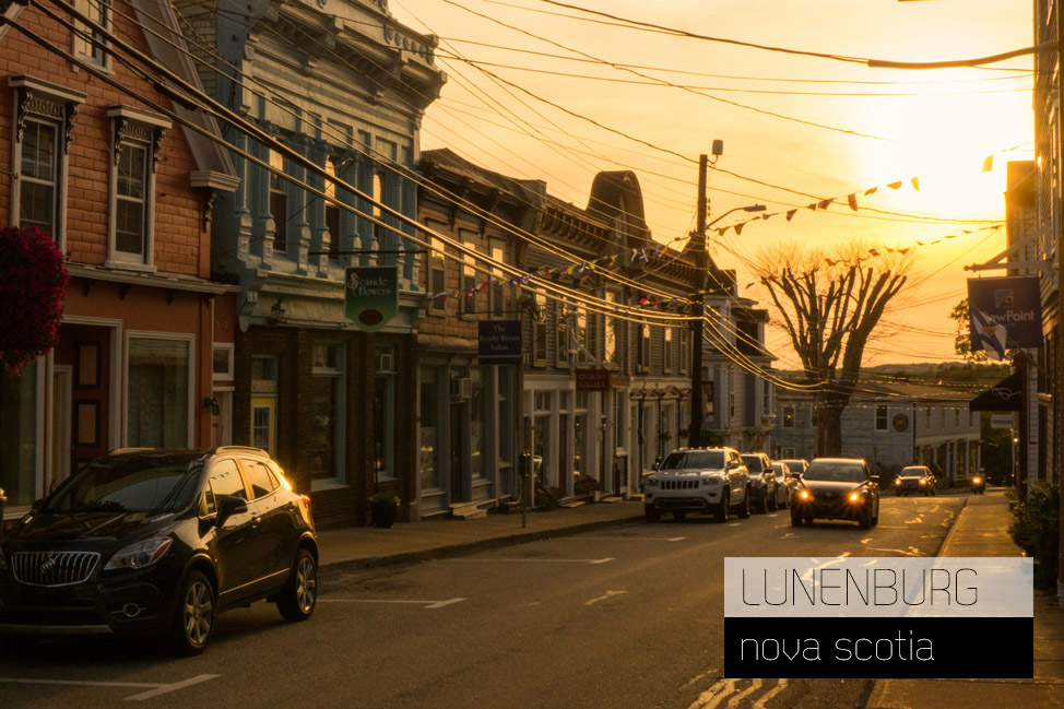 Lunenburg Golden Hour